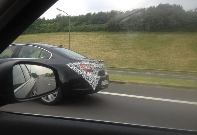Opel Insignia repérée en Belgique #3