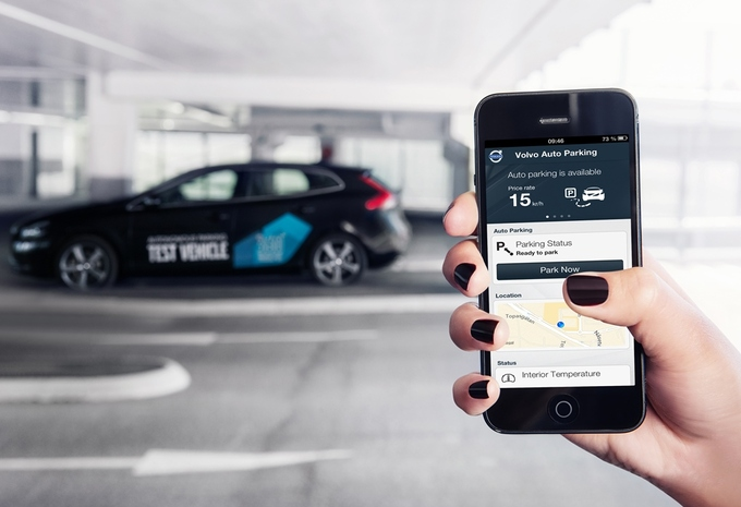 Autonoom parkerende Volvo's #2