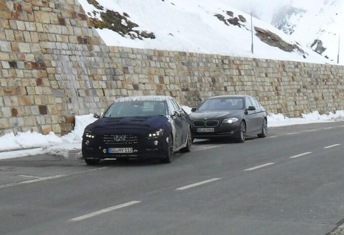 Hyundai Genesis 2015 betrapt in Oostenrijk #1