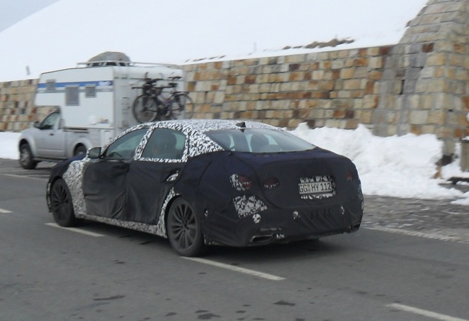 Hyundai Genesis 2015 betrapt in Oostenrijk #2