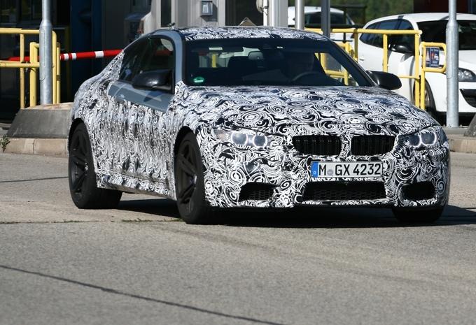 BMW M4 betrapt #1