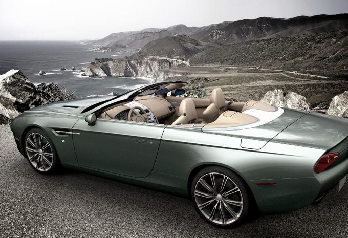 Aston Martin DBS Coupé et DB9 Spyder Zagato Centennial #2
