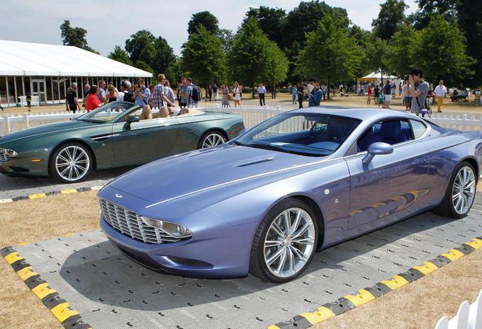 Aston Martin DBS Coupé et DB9 Spyder Zagato Centennial #4