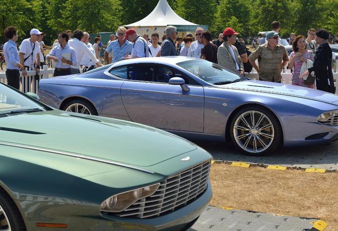 Aston Martin DBS Coupé et DB9 Spyder Zagato Centennial #5