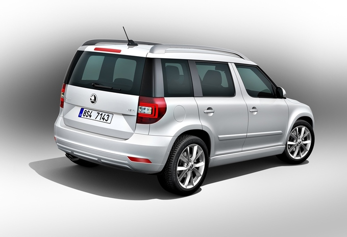nouveau mod le skoda yeti moniteur automobile. Black Bedroom Furniture Sets. Home Design Ideas