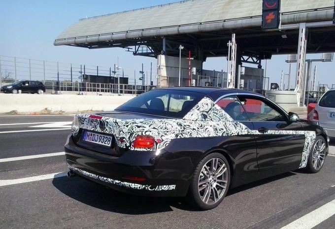 BMW Série 4 Cabriolet surprise au péage #1