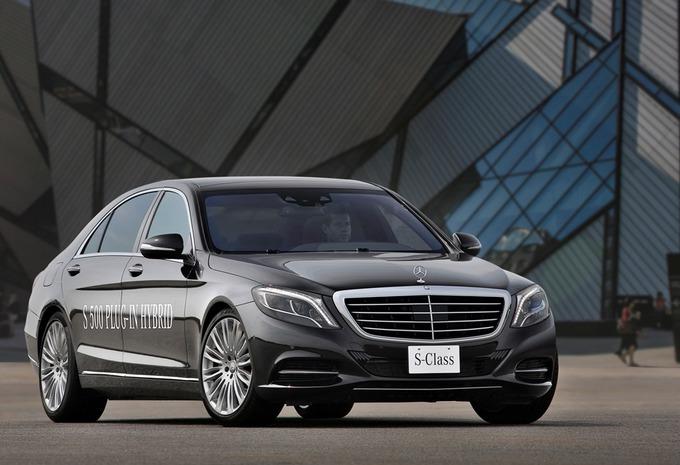 Mercedes S 500 Plug-In Hybrid #1