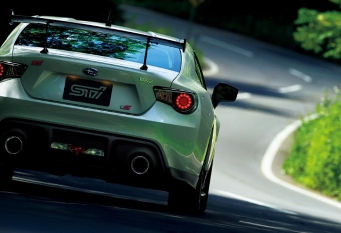 Subaru BRZ tS #4
