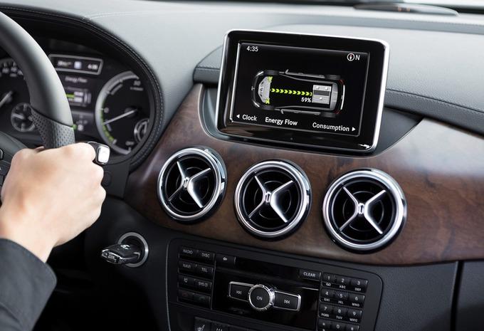 Mercedes Classe B Electric Drive #5