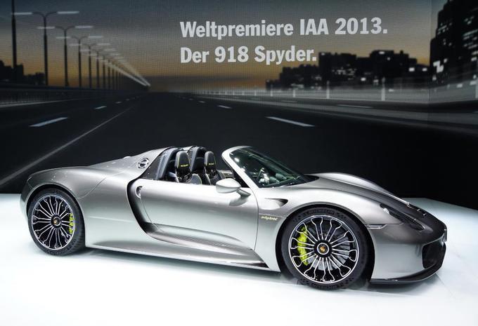 Vidéo Porsche 918 Spyder #1