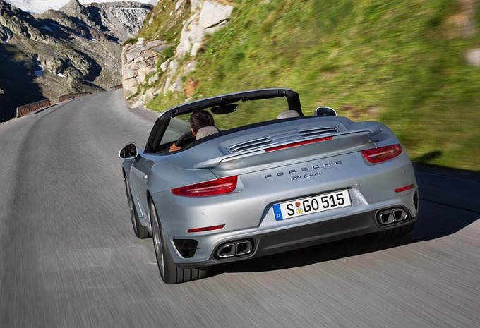 Porsche 911 Turbo (S) Cabriolet #2