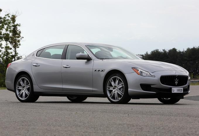 Maserati Quattroporte Diesel #1