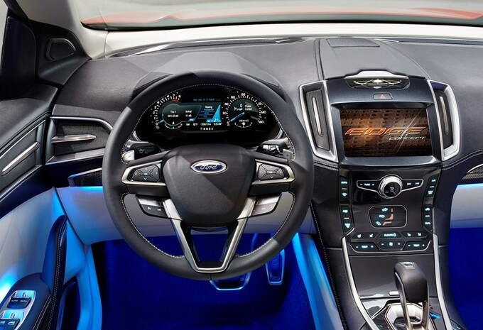 prototype ford edge concept moniteur automobile. Black Bedroom Furniture Sets. Home Design Ideas