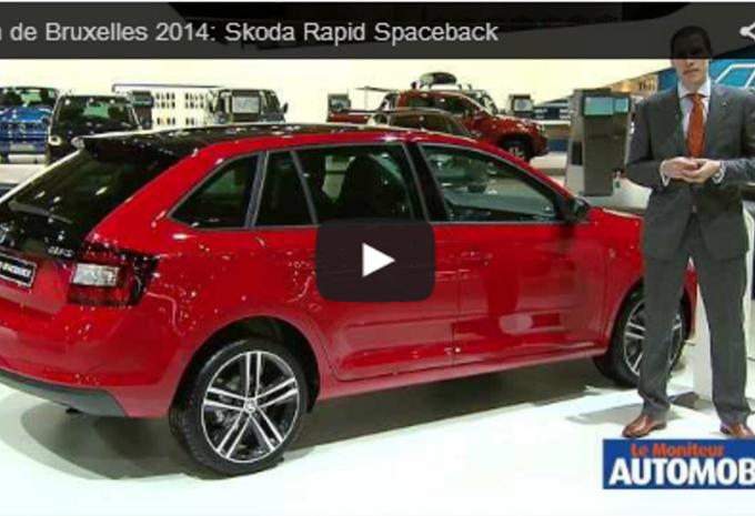 Vidéo salon : Skoda Rapid Spaceback #1