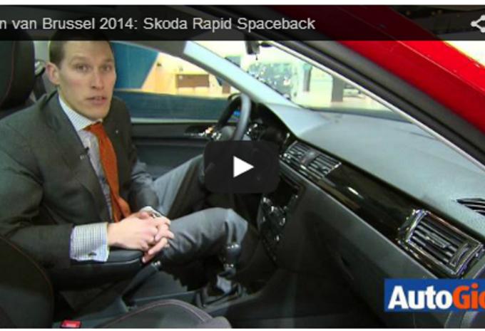 Salonvideo : Skoda Rapid Spaceback #1
