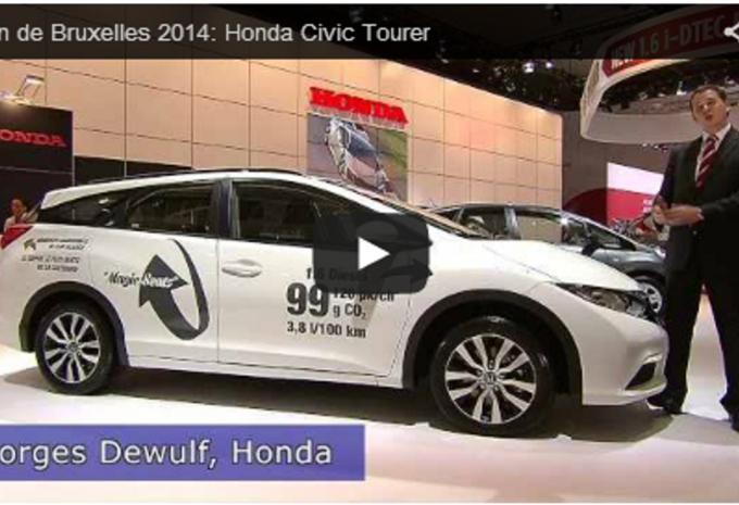 Vidéo salon : Honda Civic Tourer #1