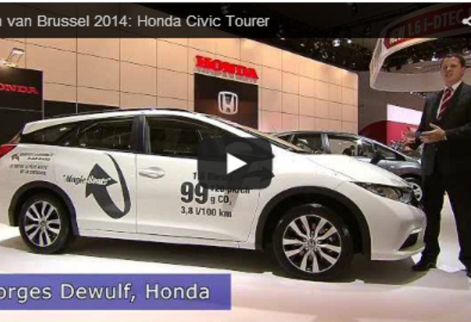 Salonvideo: Honda Civic Tourer #1