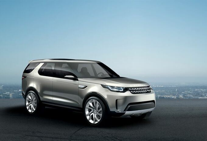 Land Rover Discovery Vision Concept #4