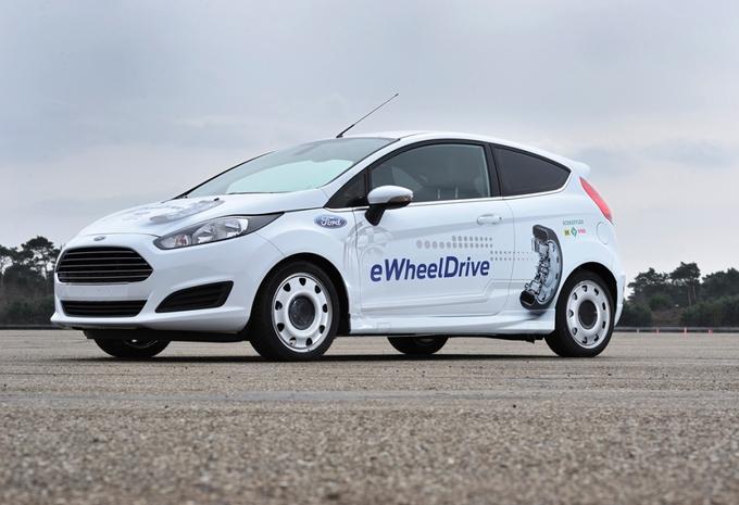Schaeffler Ford Fiesta e-Wheel Drive #1
