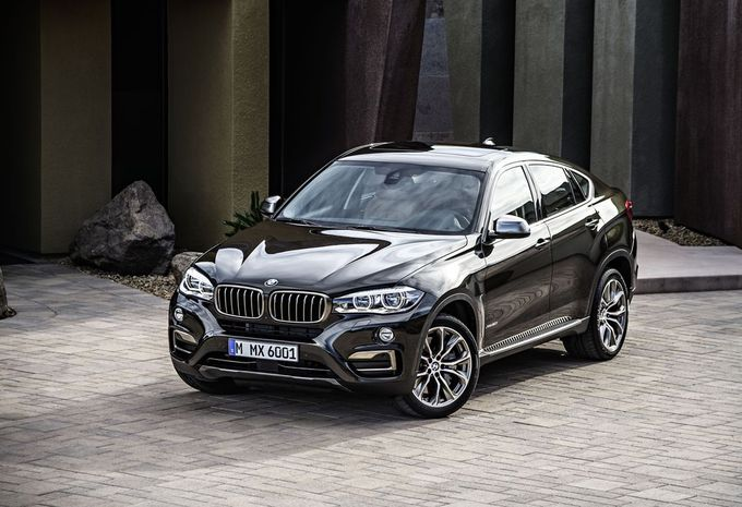 Nieuwe BMW X6 blijft coupélook trouw #12