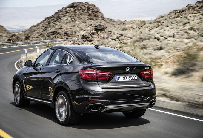 Nieuwe BMW X6 blijft coupélook trouw #2