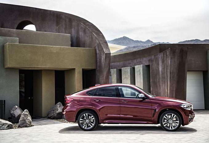 Nieuwe BMW X6 blijft coupélook trouw #4
