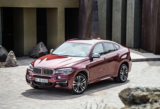 Nieuwe BMW X6 blijft coupélook trouw #5