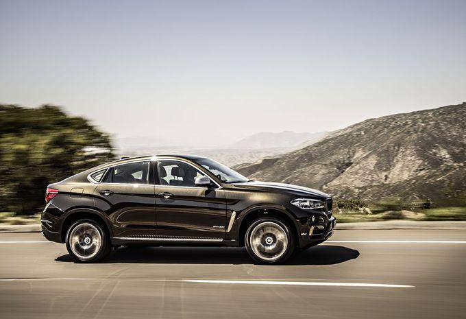 Nieuwe BMW X6 blijft coupélook trouw #9