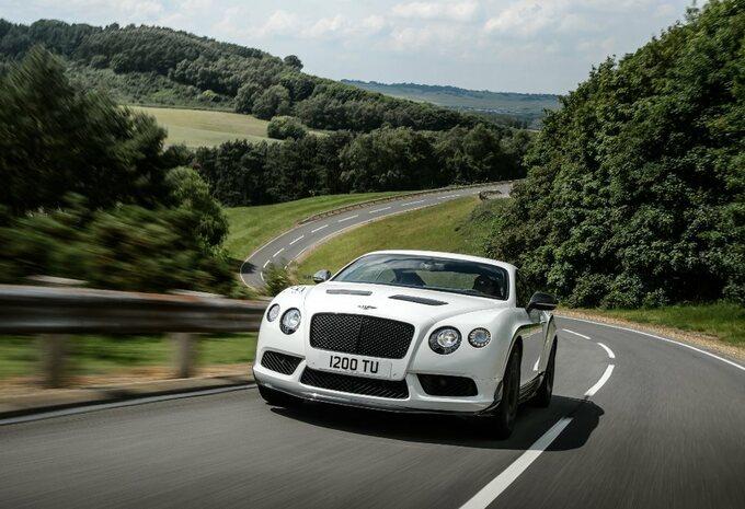 Een 'lichtgewicht' Bentley Continental #2