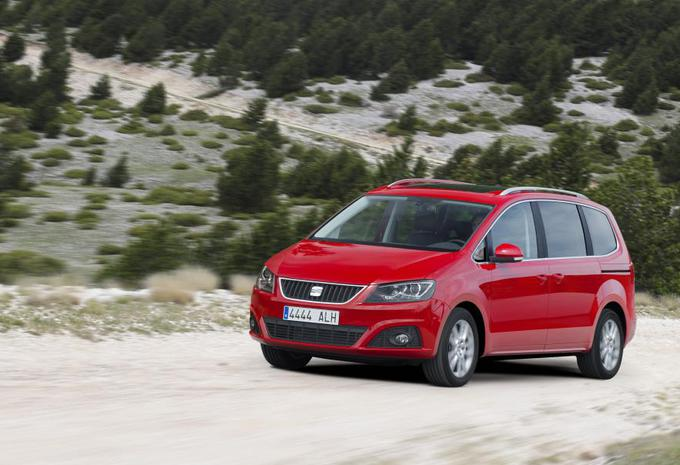 test seat alhambra 4x4 autogids. Black Bedroom Furniture Sets. Home Design Ideas