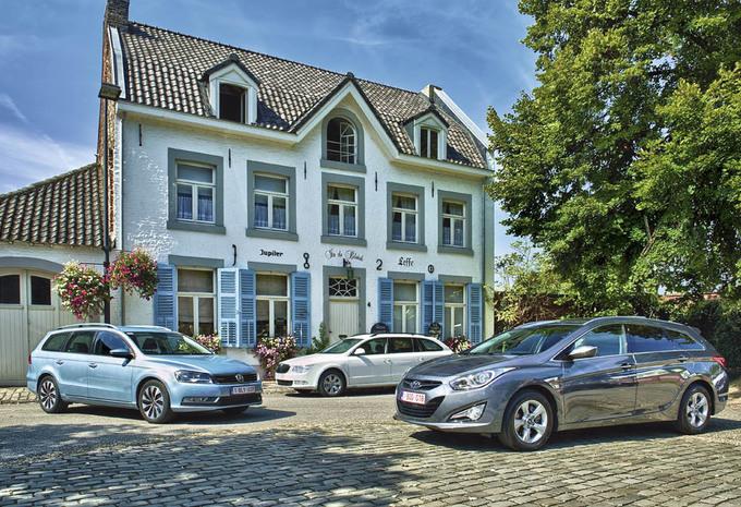 Hyundai i40 Wagon 1.7 CRDi, Skoda Superb Combi 1.6 TDI 105 & Volkswagen Passat 1.6 TDI 105 : Préjugés & valeurs sûres #1
