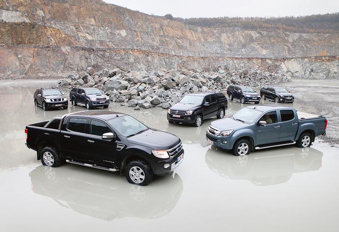 Essai comparatif ford ranger 2 2 tdci isuzu d max 2 5 mitsubishi l200 di d hp nissan navara