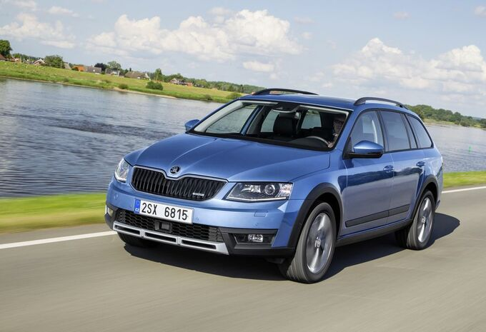 essai skoda octavia scout moniteur automobile. Black Bedroom Furniture Sets. Home Design Ideas
