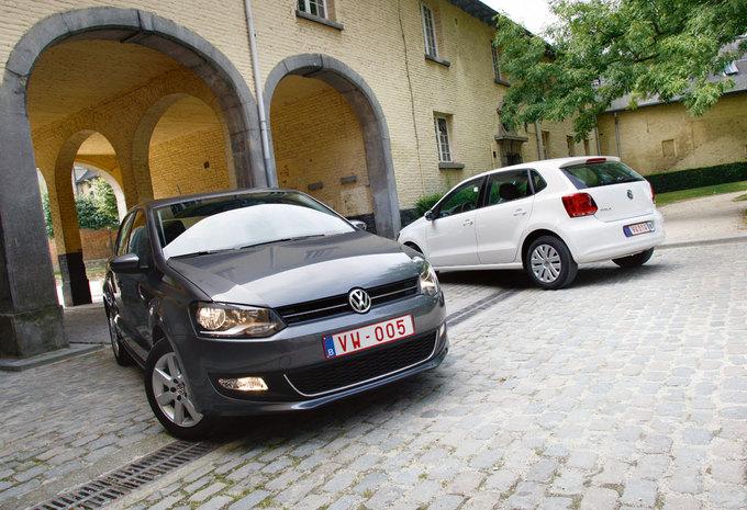 vergelijkende test volkswagen polo 1 2 70 1 6 tdi 75 golfbeweging autowereld. Black Bedroom Furniture Sets. Home Design Ideas