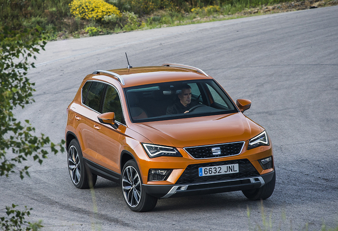 seat ateca 2 0 tdi 190 4drive dsg 2016 autowereld. Black Bedroom Furniture Sets. Home Design Ideas