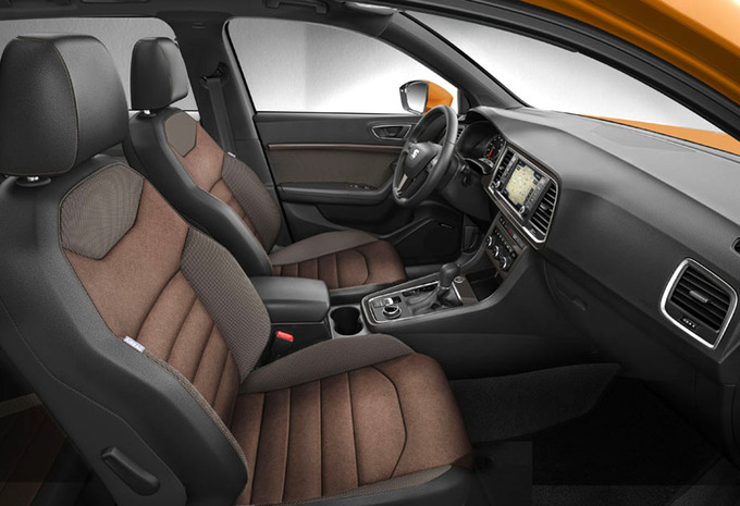 essai seat ateca 2016 moniteur automobile. Black Bedroom Furniture Sets. Home Design Ideas