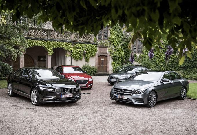 Volvo S90 tegen 3 concurrenten #1