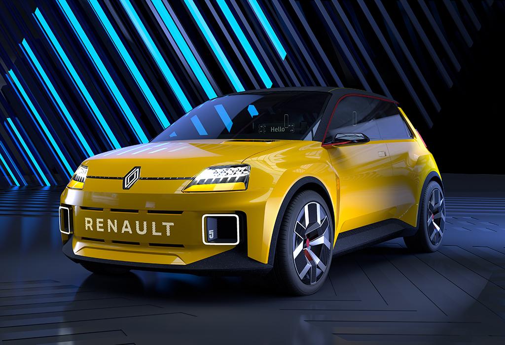 Elektrische 5 Prototype verpersoonlijkt de toekomstvisie van Renault