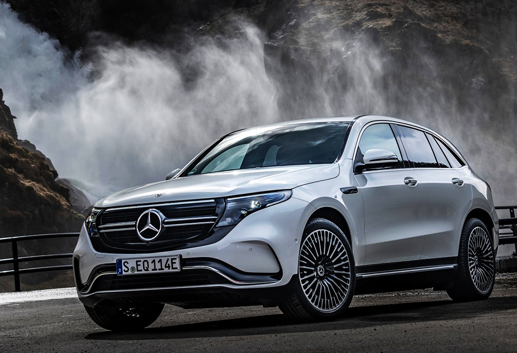 La Mercedes EQC électrique devient moins chère ou plus sportive