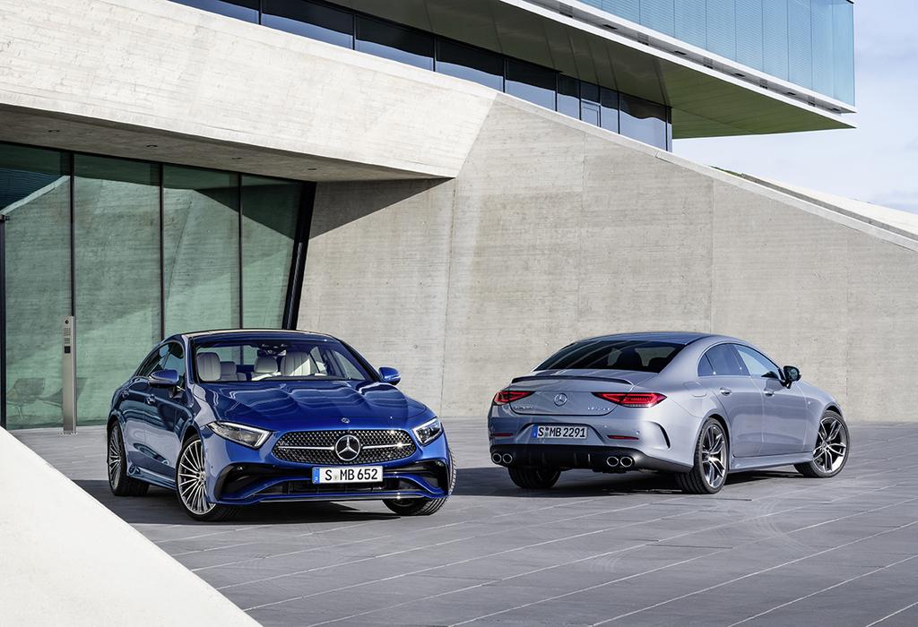 Mercedes CLS: nieuwe neus en nieuwe dieselmotor