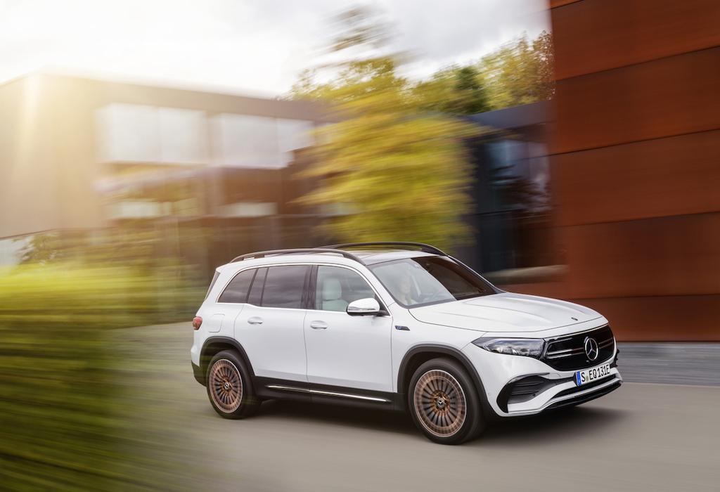 Mercedes EQB, SUV familial électrique à 7 places