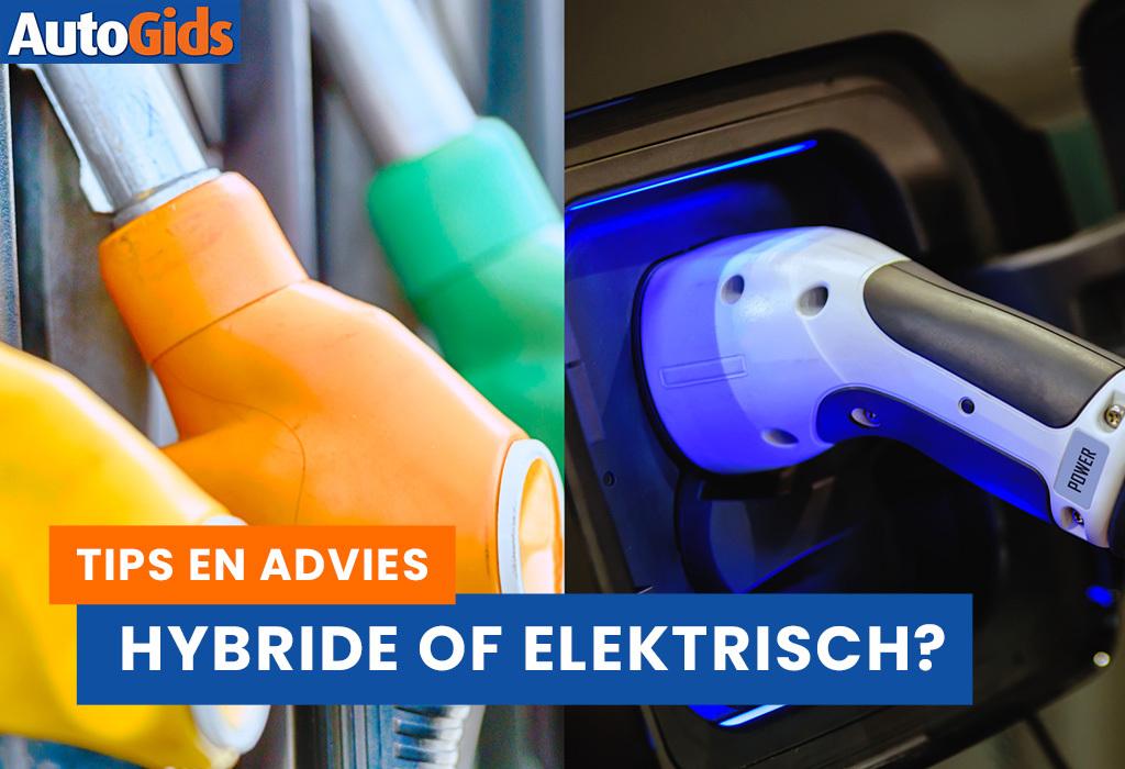 Je wil een groene auto, maar ga je dan voor hybride of voor elektrisch?