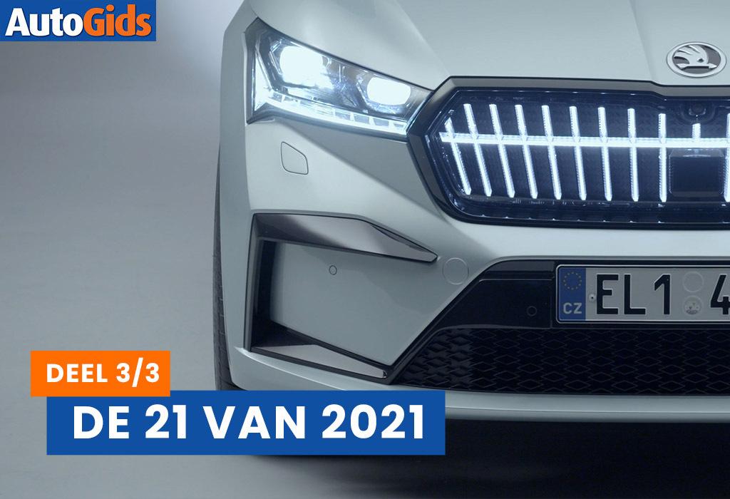 De 21 belangrijkste nieuwigheden voor 2021 - deel 3/3