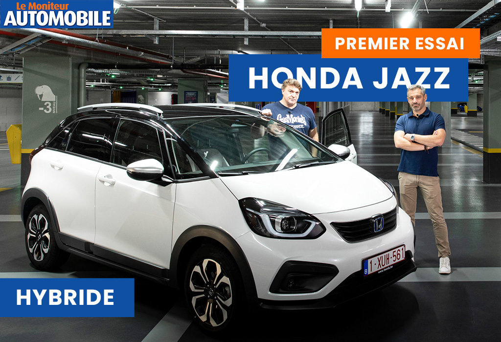 Essai vidéo de la Honda Jazz Hybrid