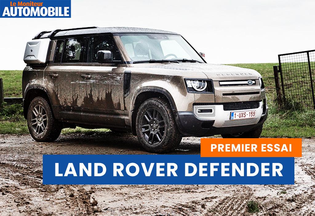 Essai vidéo de la Land Rover Defender