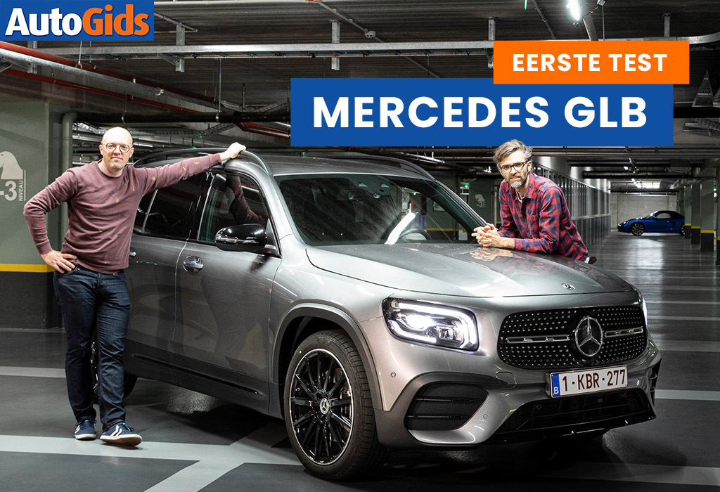 Wegtest Mercedes GLB (video)