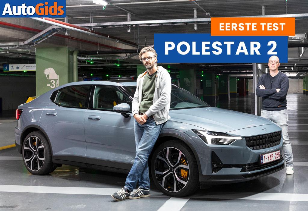 Wegtest Polestar 2 (video)