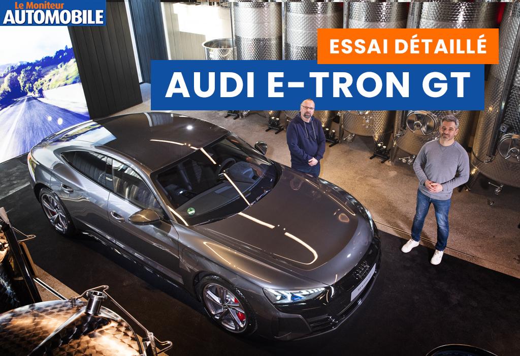 Essai vidéo de l'Audi e-tron GT
