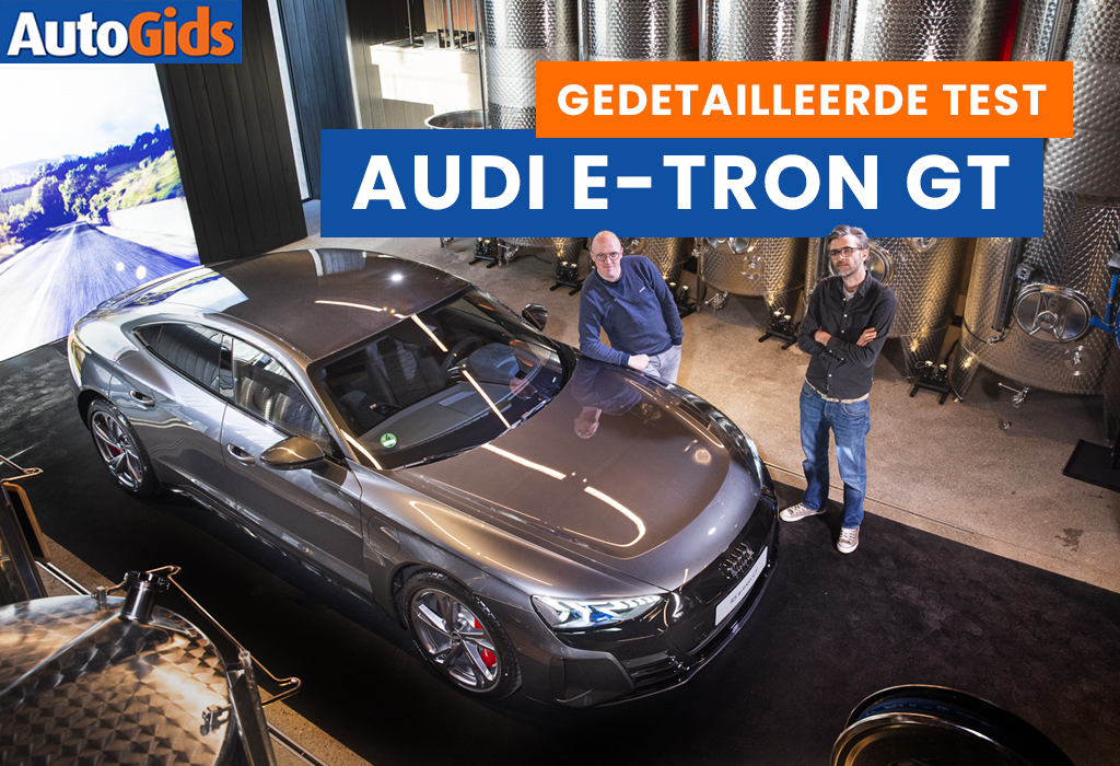 Wegtest Audi E-tron GT (video)