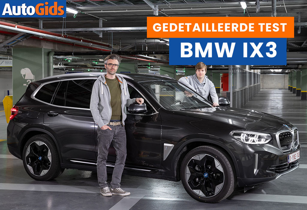 Wegtest BMW iX3 (video)